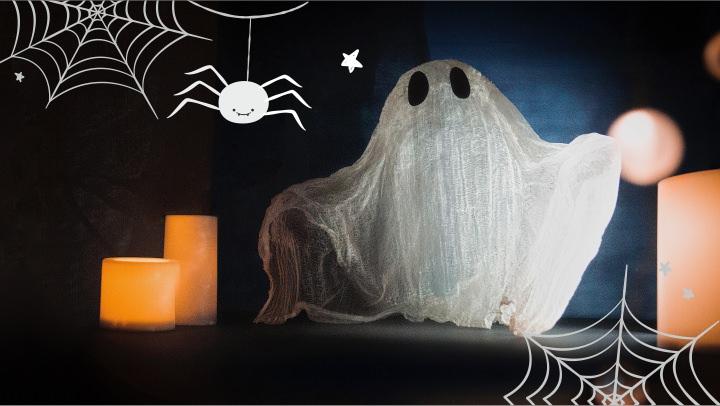 Идеи на Хэллоуин. Делаем Привидение.