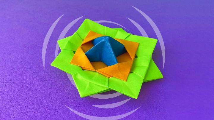 Оригами «Вертушка»