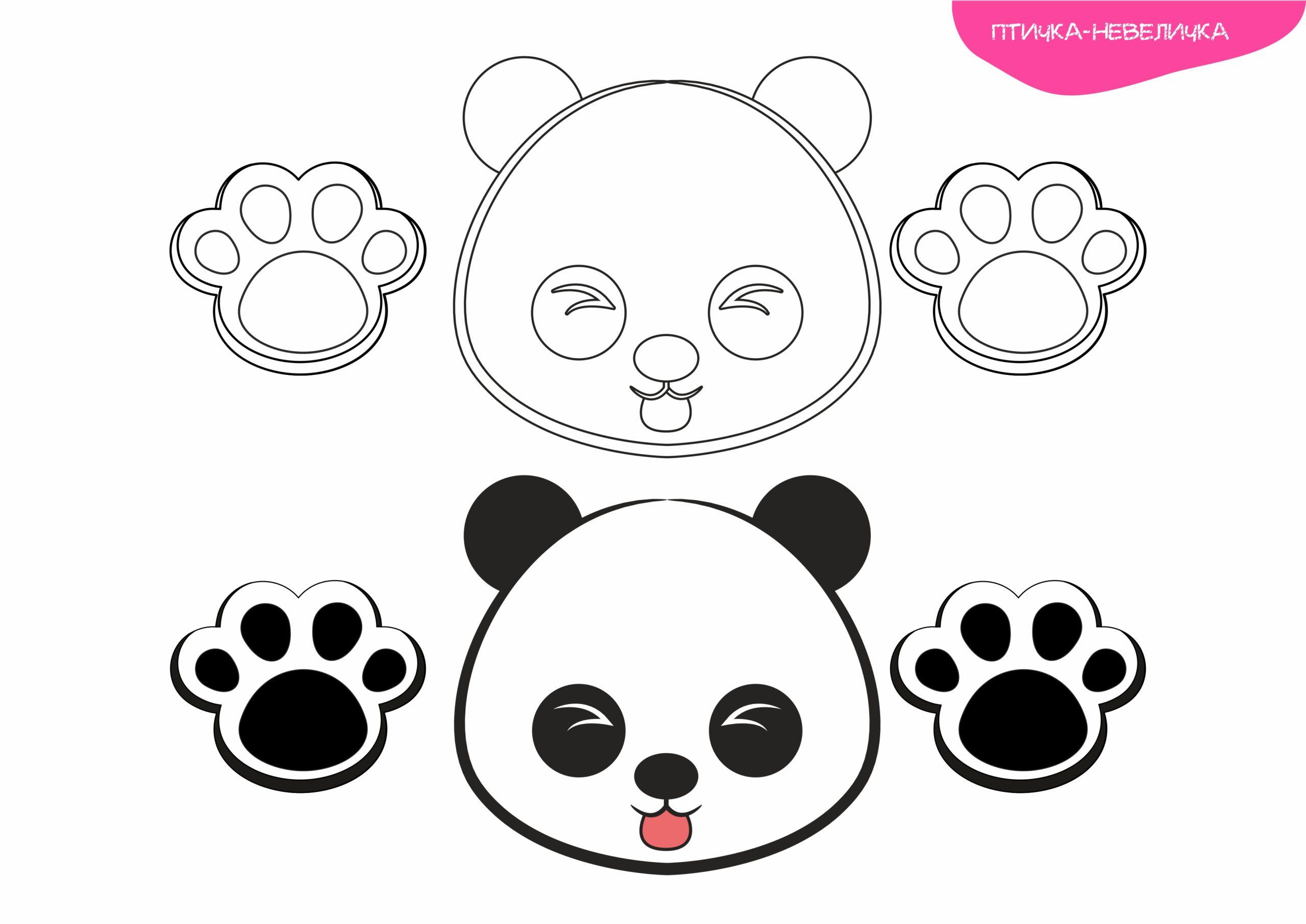 Игрушка из стаканчика «Панда»