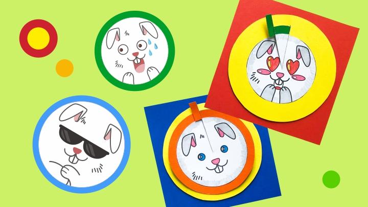 Динамическая игрушка «Кролик»