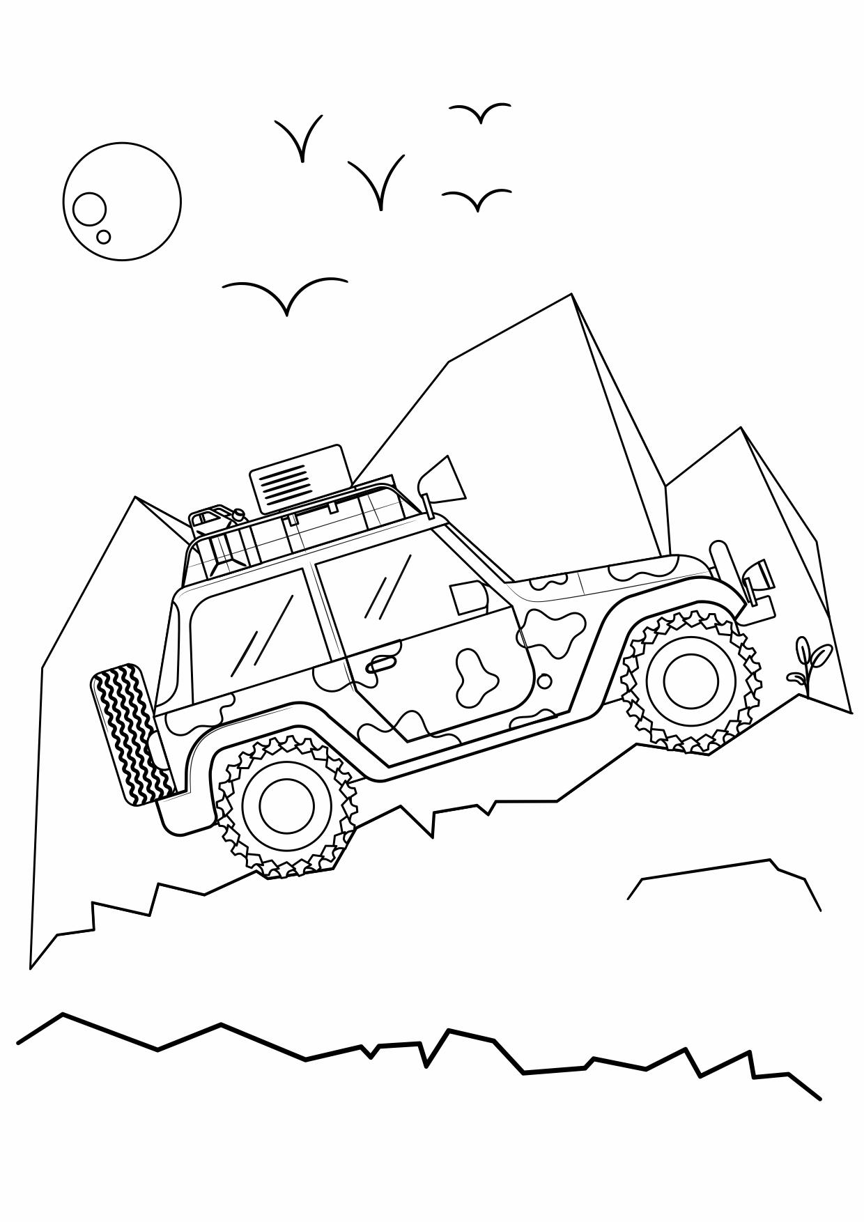 Раскраски «Машины» / Раскраски для детей / Скачать