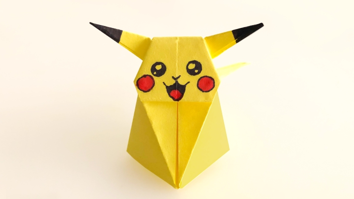 Оригами «Пикачу»