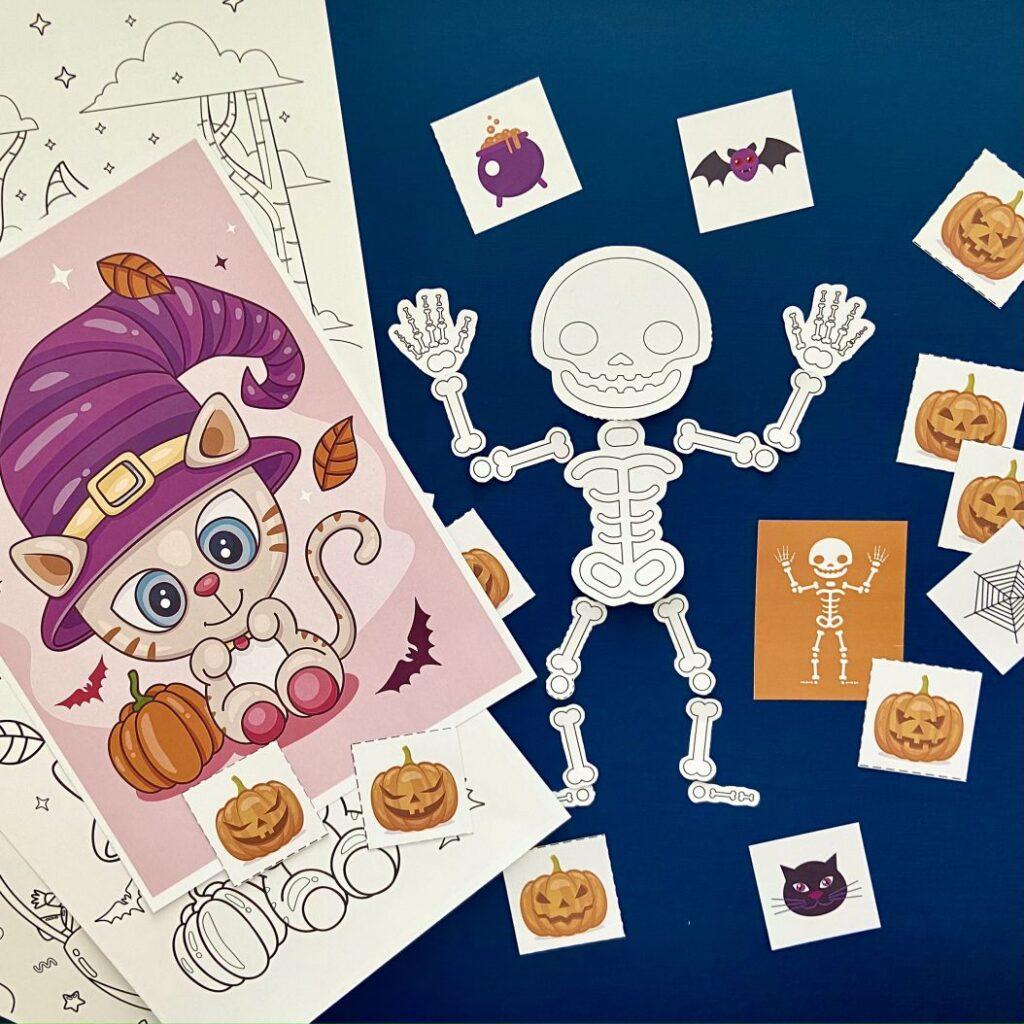 Шаблон «Игры на Хэллоуин»