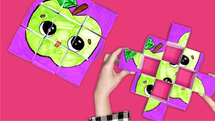 Кубики из бумаги